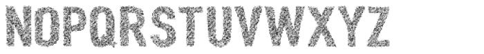 Peperoncino Sans Multiline Rough Font UPPERCASE