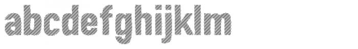 Peperoncino Sans Multilines Font LOWERCASE