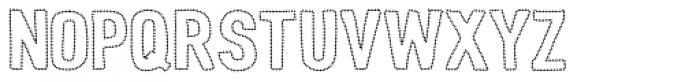 Peperoncino Sans Neon Font UPPERCASE