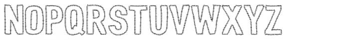 Peperoncino Sans Stars Font UPPERCASE