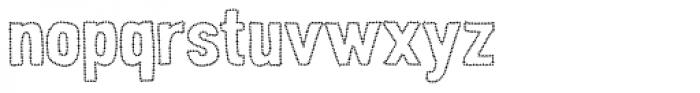 Peperoncino Sans Stars Font LOWERCASE
