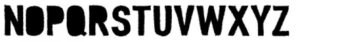 Peperoncino Sans Tribe Rough Font UPPERCASE