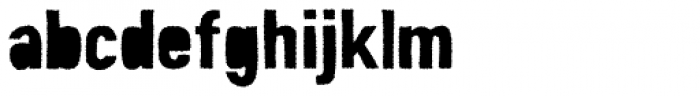 Peperoncino Sans Tribe Rough Font LOWERCASE