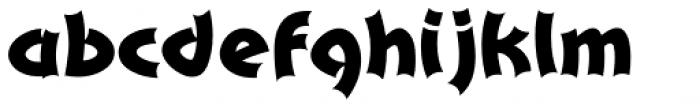 Pepino Font LOWERCASE