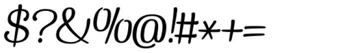 Pepita Script2 Italic Font OTHER CHARS