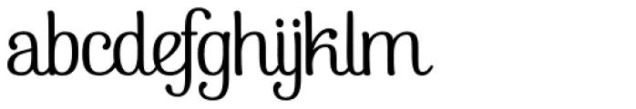 Pepita Script2 Font LOWERCASE