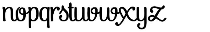 Pepita Script3 Font LOWERCASE