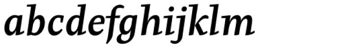 Pepone BookBold Italic Font LOWERCASE