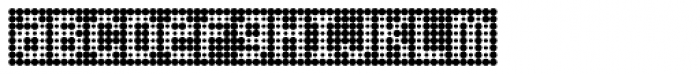 Peppered BTN Negative Font LOWERCASE