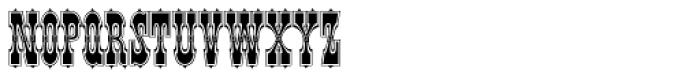 Pepperwood Std Regular Font LOWERCASE