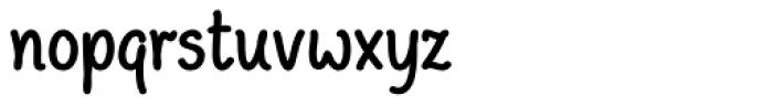 Peppo Condensed Regular Font LOWERCASE