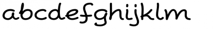 Peppo Expanded Regular Font LOWERCASE