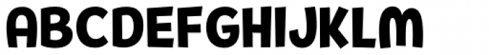 Pequena Neo Black Font UPPERCASE
