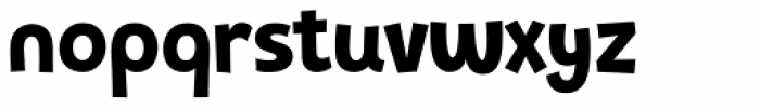 Pequena Neo Black Font LOWERCASE
