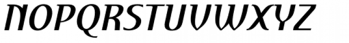 Perceval Bold Italic Font UPPERCASE