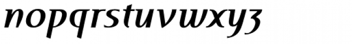 Perceval Bold Italic Font LOWERCASE