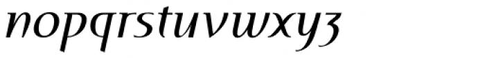 Perceval Italic Font LOWERCASE