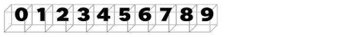 Perec Ludique Cubes Font OTHER CHARS