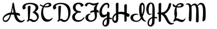Peregroy JF Font UPPERCASE