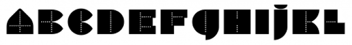 Perfopunto 4F Font UPPERCASE