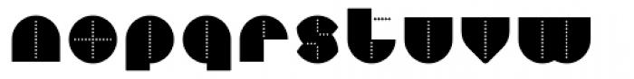Perfopunto 4F Font LOWERCASE