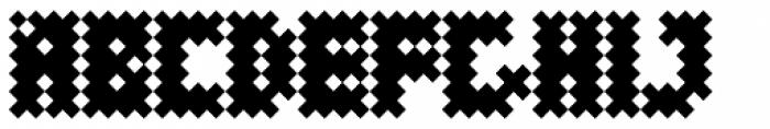 Performance Rhomb Minus Font UPPERCASE