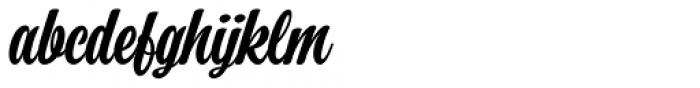Perfume Brush Bold Font LOWERCASE
