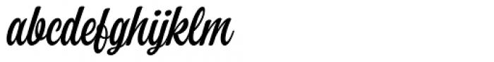 Perfume Brush Regular Font LOWERCASE