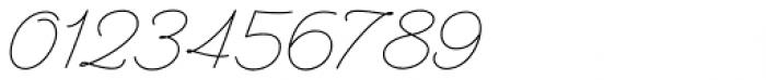 Perfume Pen Light Font OTHER CHARS