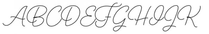 Perfume Pen Light Font UPPERCASE