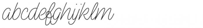 Perfume Pen Light Font LOWERCASE