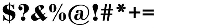 Pergamon Bold Font OTHER CHARS