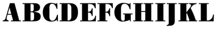 Pergamon Bold Font UPPERCASE