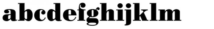 Pergamon Bold Font LOWERCASE
