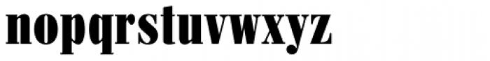 Pergamon Condensed Bold Font LOWERCASE