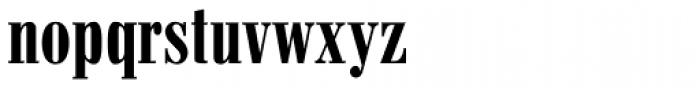 Pergamon Condensed Font LOWERCASE