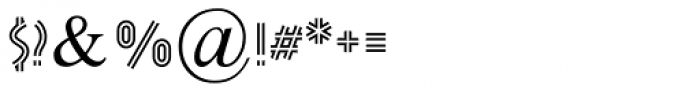 Pergula MF Stroke Font OTHER CHARS