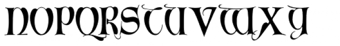 Perigord Font UPPERCASE