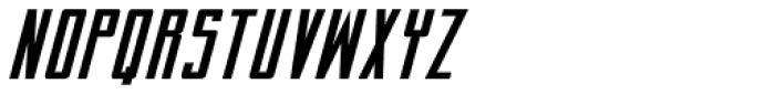 Perils Of Piekos BB Italic Font UPPERCASE