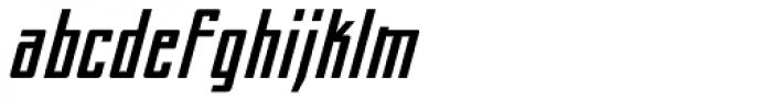 Perils Of Piekos BB Italic Font LOWERCASE