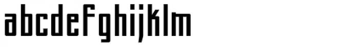 Perils Of Piekos BB Font LOWERCASE
