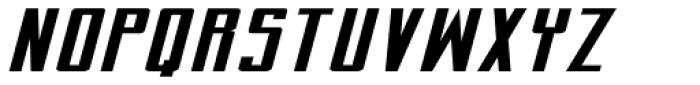 Perils Of Piekos Extended BB Italic Font UPPERCASE