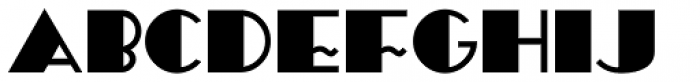 Periodical Solid JNL Font UPPERCASE