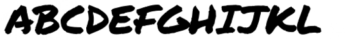 Permanent Marker Pro Font UPPERCASE