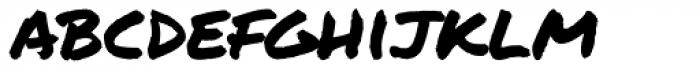 Permanent Marker Pro Font LOWERCASE
