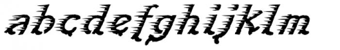 Perpedix D Font LOWERCASE