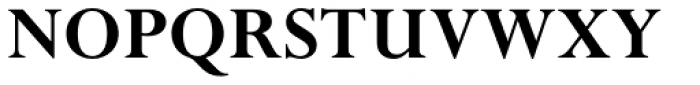 Perpetua Pro Bold Font UPPERCASE