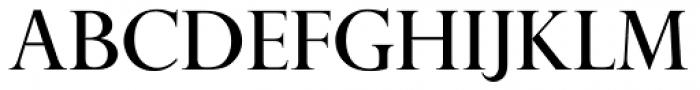 Perpetua Pro Titling Roman Font UPPERCASE