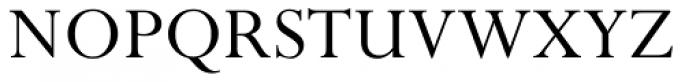 Perpetua Roman Font UPPERCASE