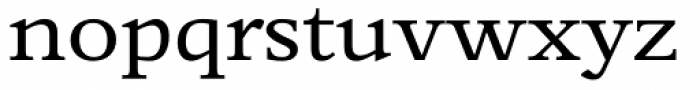 Perrywood Expanded SemiBold Font LOWERCASE